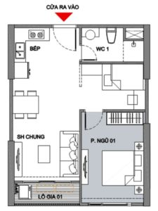 Vinhomes Smart City 1 Bedroom Apartment