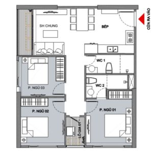 Vinhomes Smart City 3 Bedroom Apartment