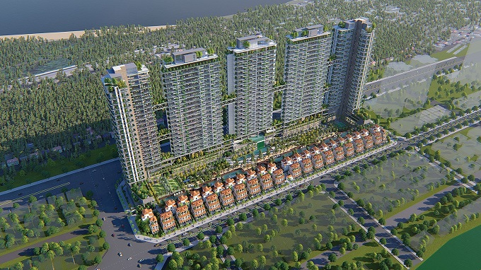 Sunshine Group is building a series of high-class projects on golden riverside land in Hanoi.