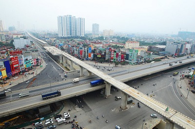 Hanoi Metro Line 2 & Elevated Road