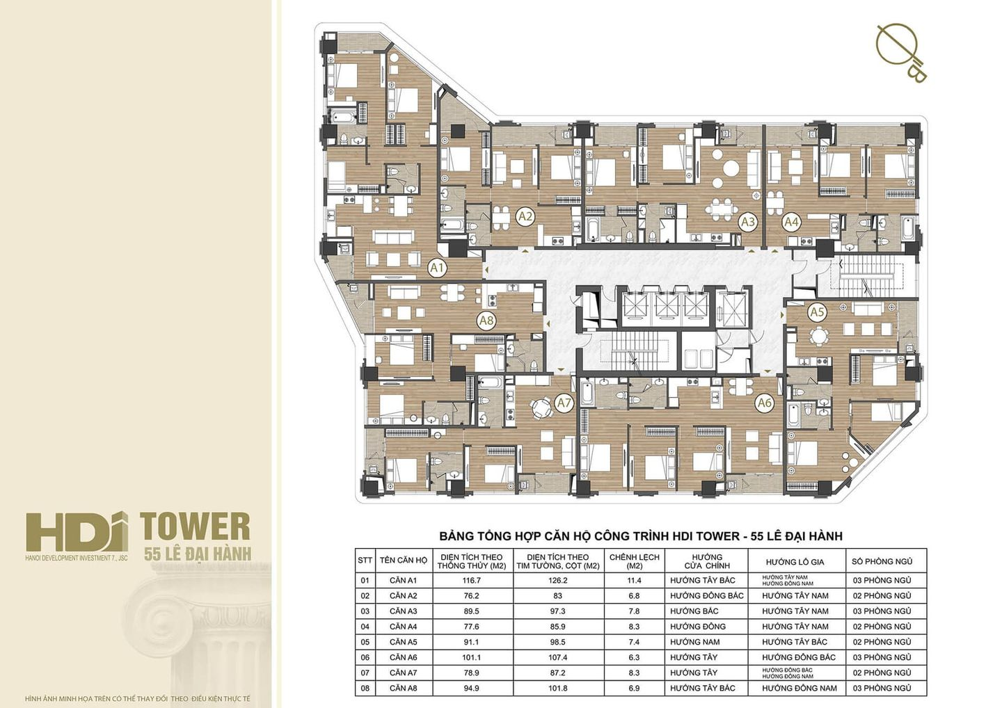 HDI TOWER PROJECT FLOOR PLAN