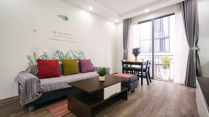 serviced apartment on to ngoc van