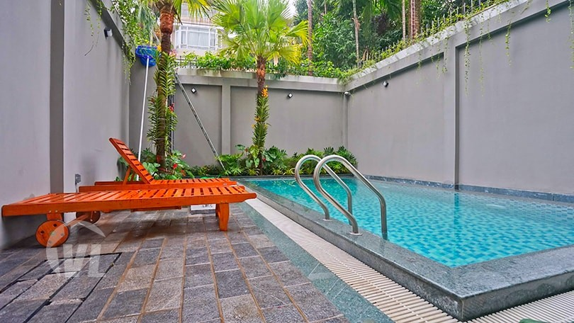 serviced apartment with swimming pool in tay ho