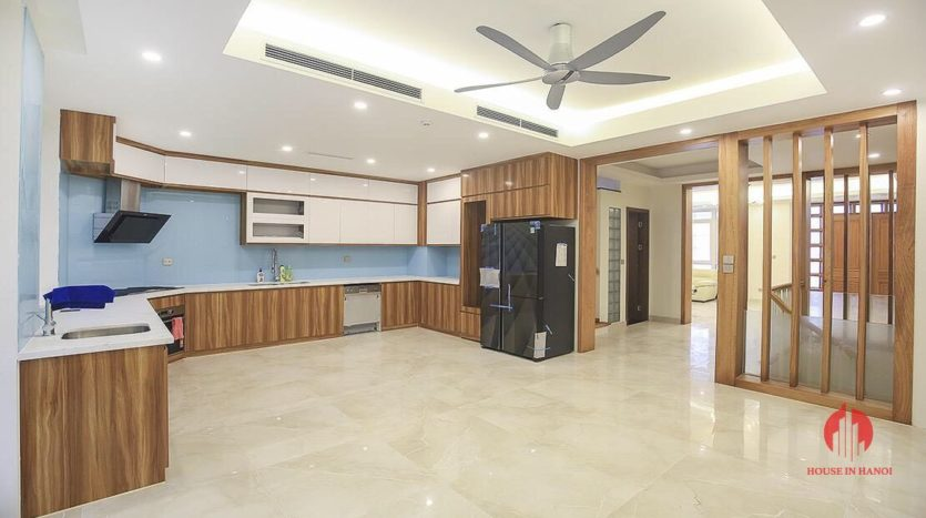 full furnished villa for rent in k block ciputra 13