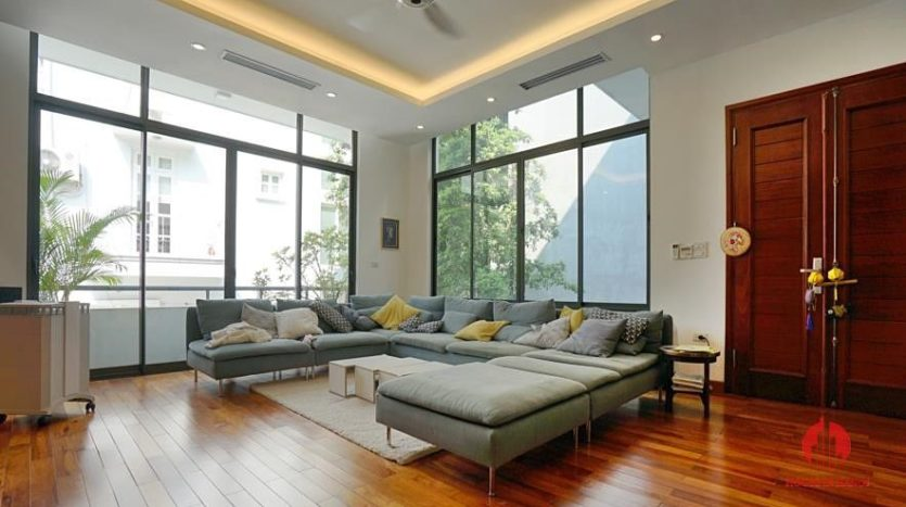 house for rent in swimming pool in tay ho 12