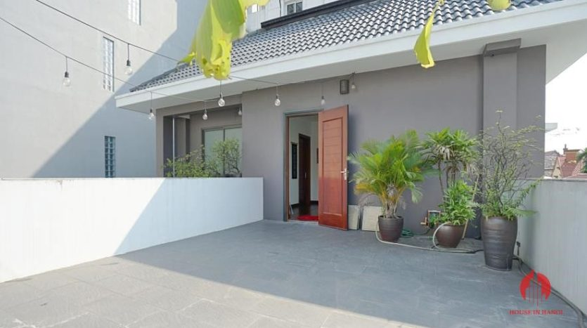 house for rent in swimming pool in tay ho 3
