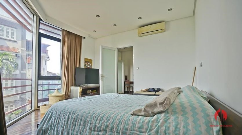 house for rent in tay ho with rooftop swimming pool 25