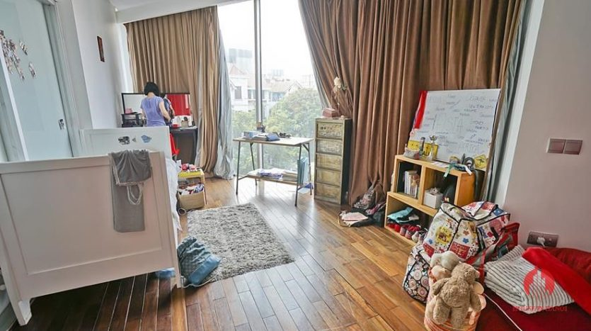 house for rent in tay ho with rooftop swimming pool 32
