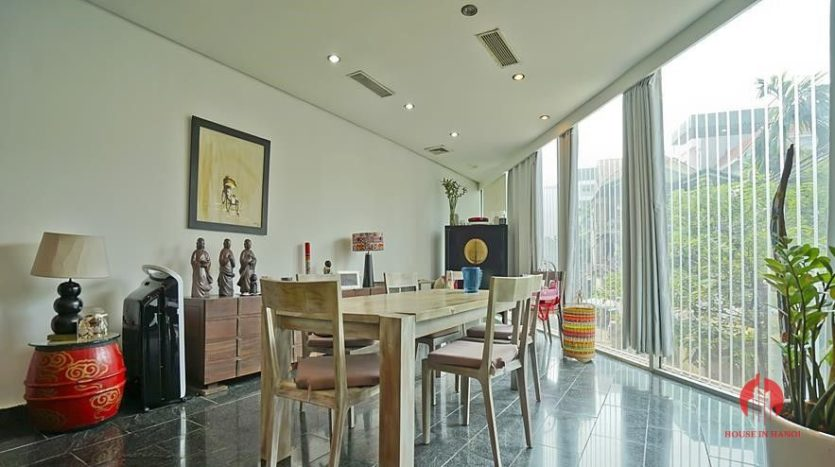 house for rent in tay ho with rooftop swimming pool 9