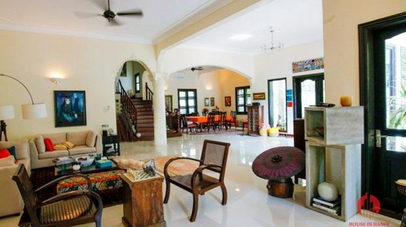 marvellous pool villa for rent in tay ho 14