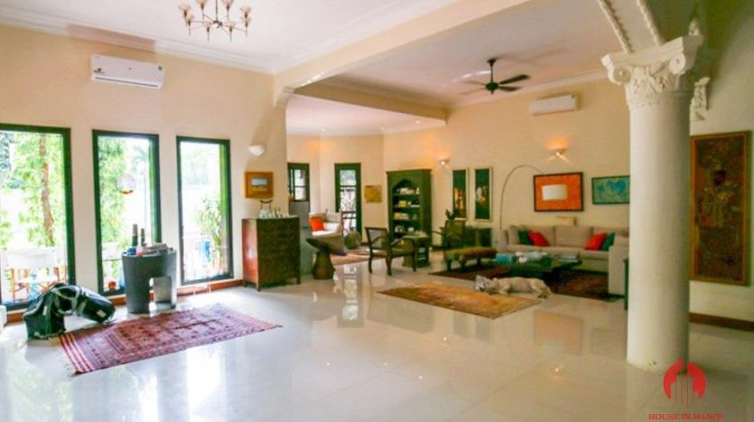 marvellous pool villa for rent in tay ho 21