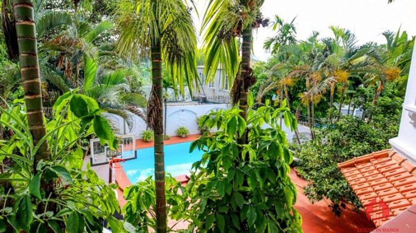 marvellous pool villa for rent in tay ho 9