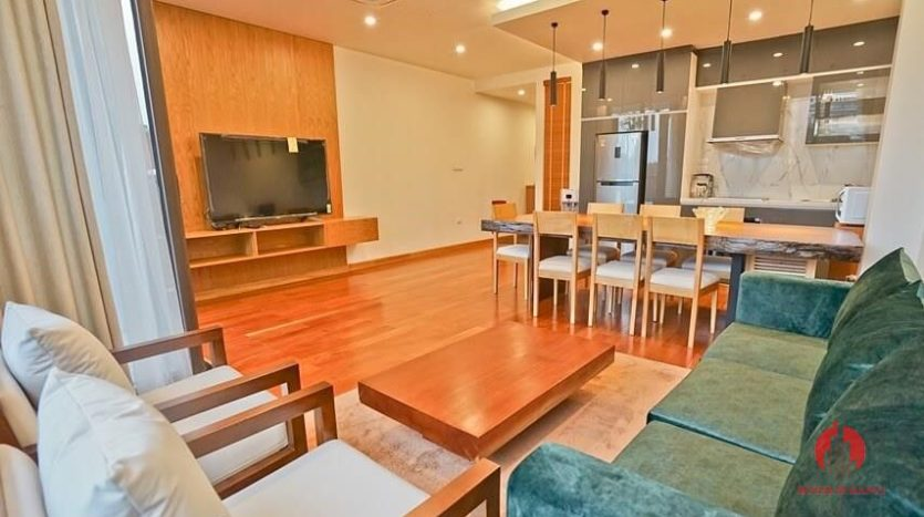 serviced apartment with swimming pool in tay ho 10