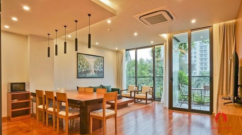 serviced apartment with swimming pool in tay ho 8