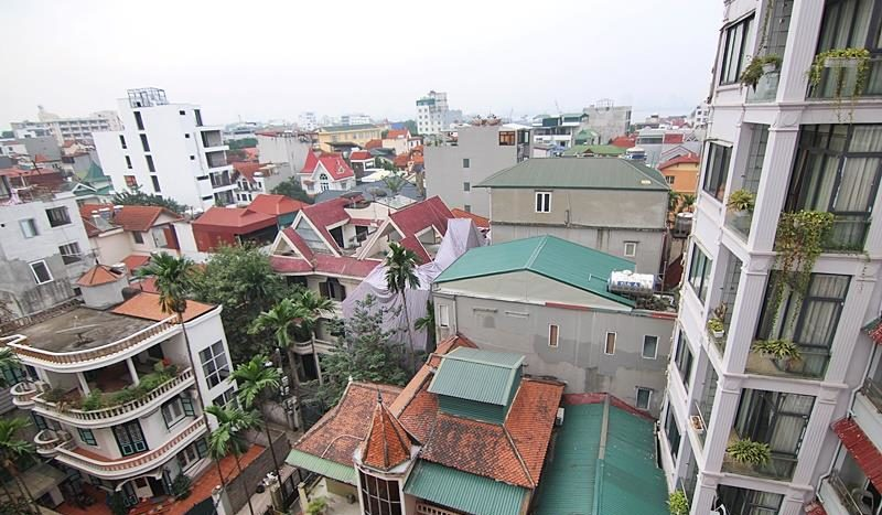 2BR apartment for rent on the front of To Ngoc Van street Tay Ho dist 12
