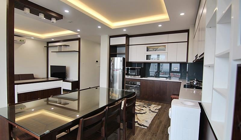 2BR apartment for rent on the front of To Ngoc Van street Tay Ho dist 14