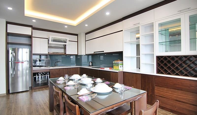 2BR apartment for rent on the front of To Ngoc Van street Tay Ho dist 15