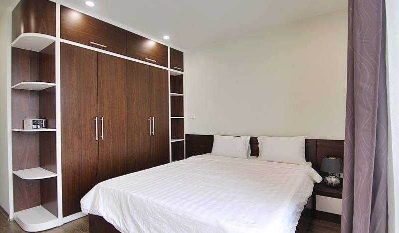 2BR apartment for rent on the front of To Ngoc Van street Tay Ho dist 4