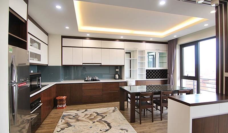 2BR apartment for rent on the front of To Ngoc Van street Tay Ho dist 5
