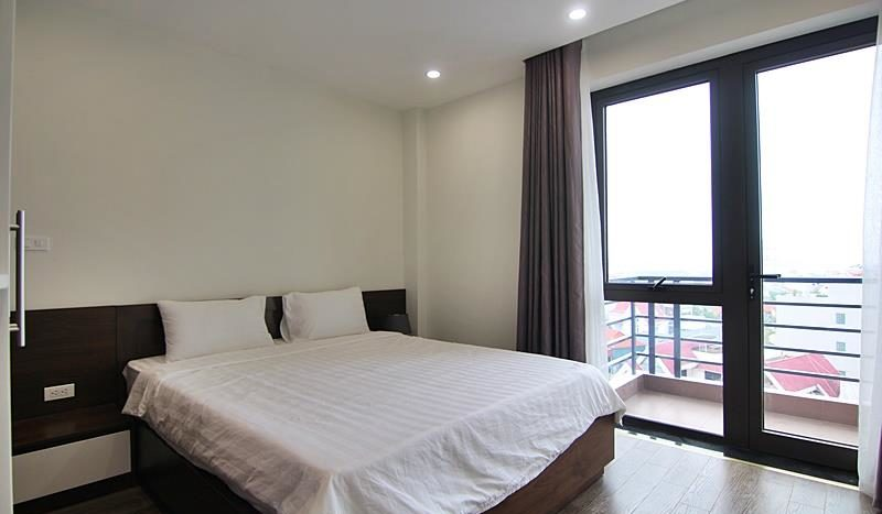 2BR apartment for rent on the front of To Ngoc Van street Tay Ho dist 6