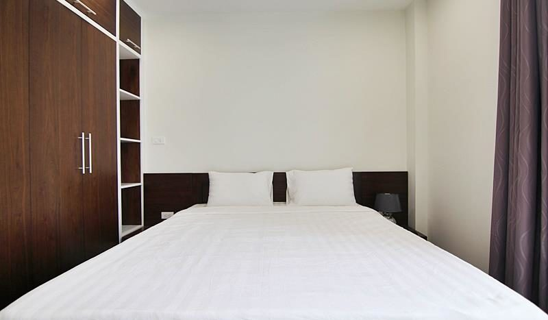 2BR apartment for rent on the front of To Ngoc Van street Tay Ho dist 9