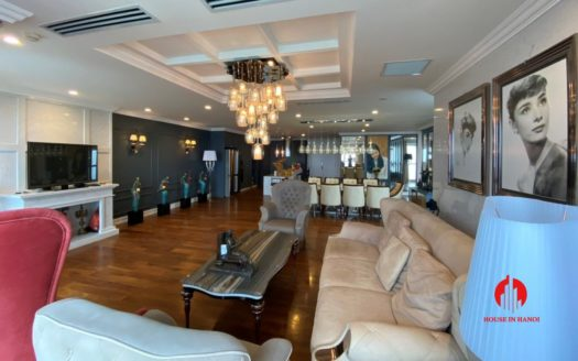 267m2 apartment for rent in ciputra l3