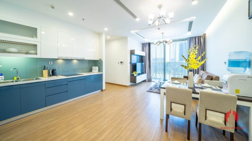 Appealing 2BR apartment for rent on Kim Ma street Ba Dinh dist 3