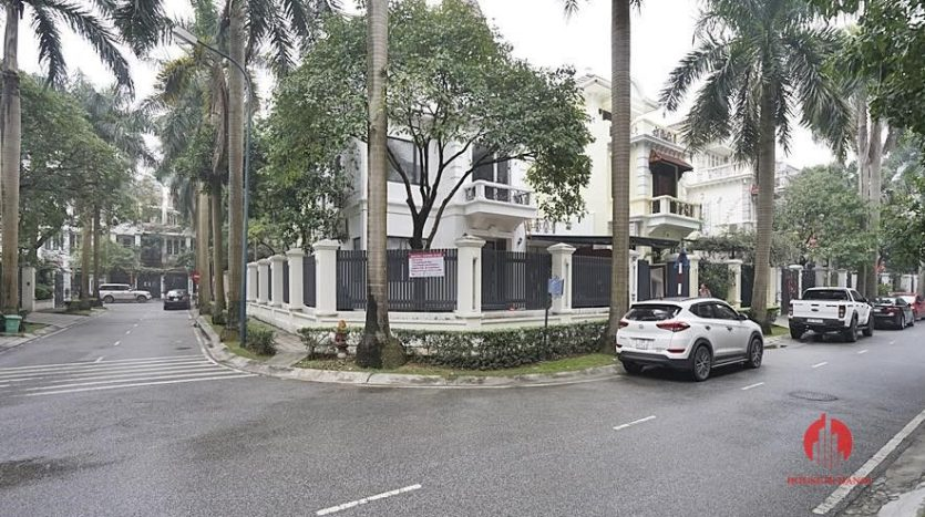 Ciputra Hanoi Corner villa for rent after full scale renovation 5