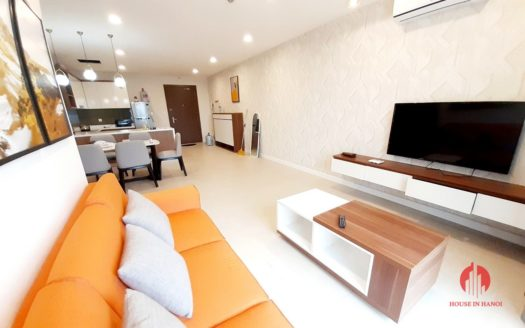 Colorful 2BR apartment for rent near Korean Embassy Tay Ho district 1