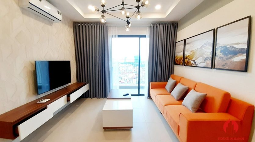 Colorful 2BR apartment for rent near Korean Embassy Tay Ho district 2