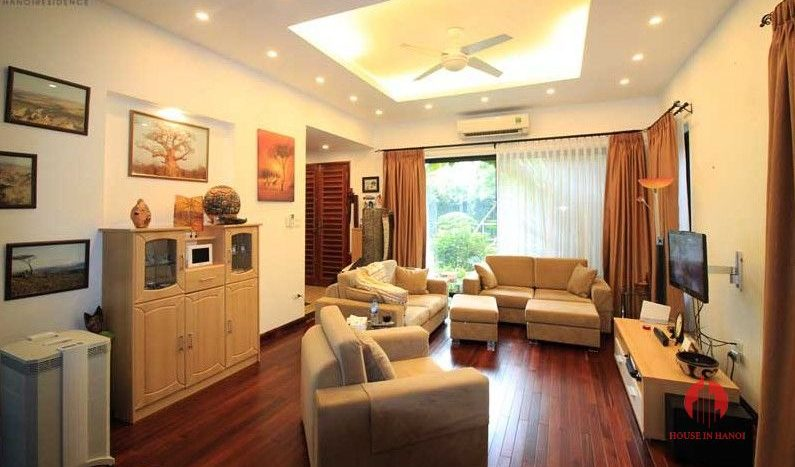 Contemporary one floor house with garden for rent in Tay Ho district 5 result