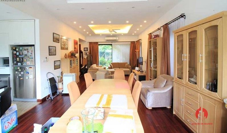 Contemporary one floor house with garden for rent in Tay Ho district 7 result