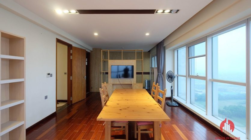 Excellent sky villa for rent with nice golf view in L2 Ciputra Hanoi 26