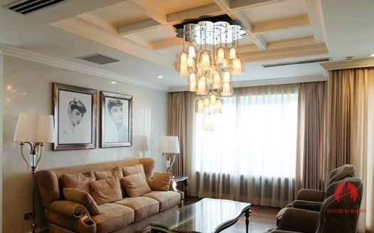 Extraordinary golf view apartment for lease in Ciputra Hanoi 3 result