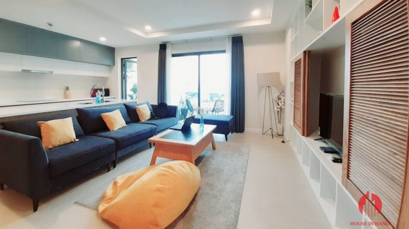Eye catching 3 bedroom apartment for lease in Kosmo Tay Ho 12