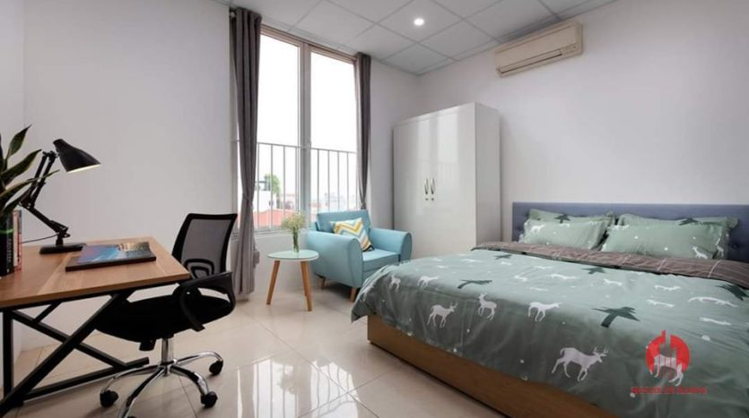 Gentle airy 3 bedroom apartment for rent on Au Co street Tay Ho 12