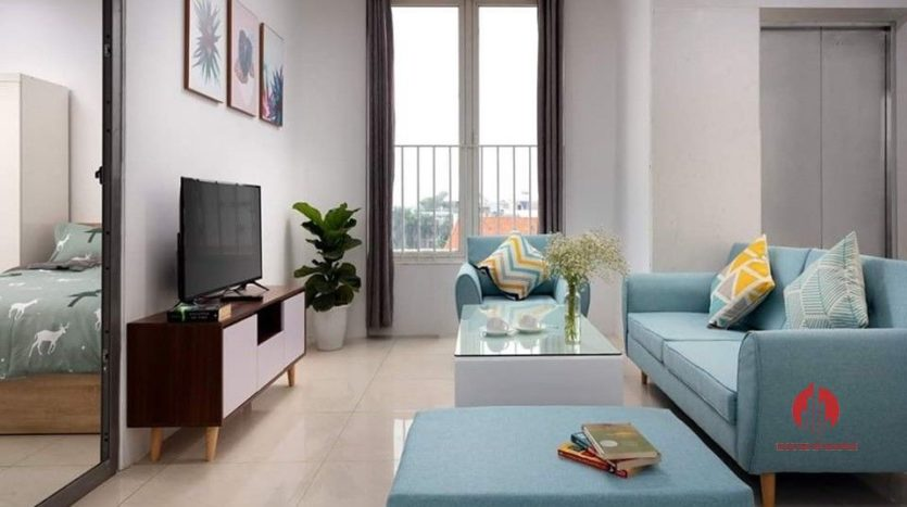 Gentle airy 3 bedroom apartment for rent on Au Co street Tay Ho 14