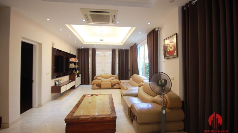 Grand 230m2 villa for lease in Ciputra T Block near Hanoi UNIS 14