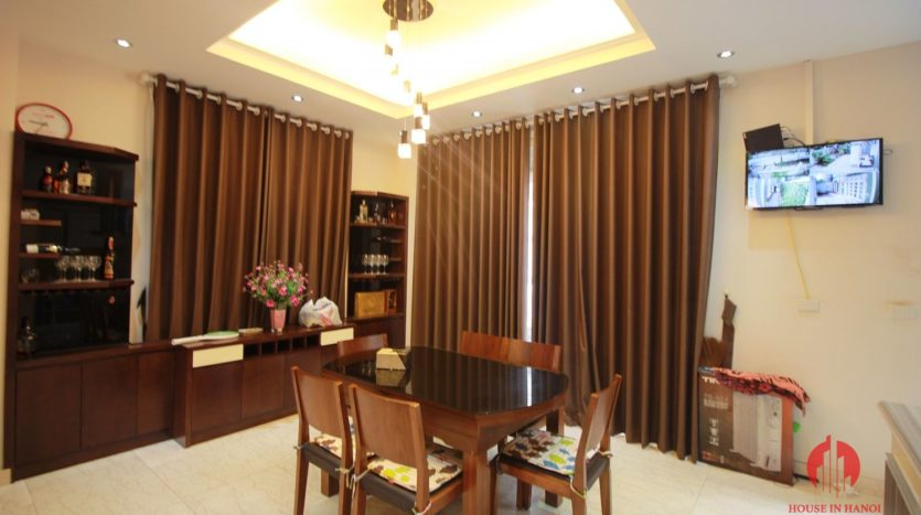 Grand 230m2 villa for lease in Ciputra T Block near Hanoi UNIS 15