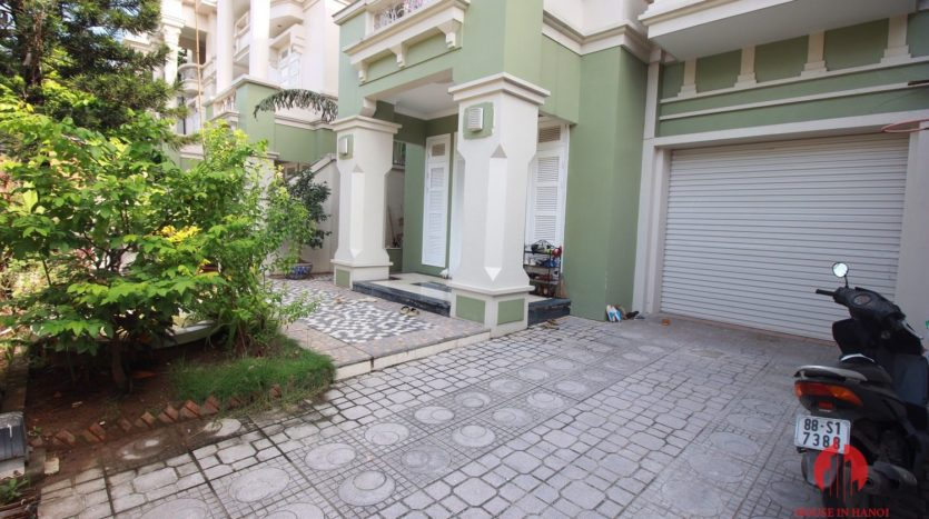 Grand 230m2 villa for lease in Ciputra T Block near Hanoi UNIS 19
