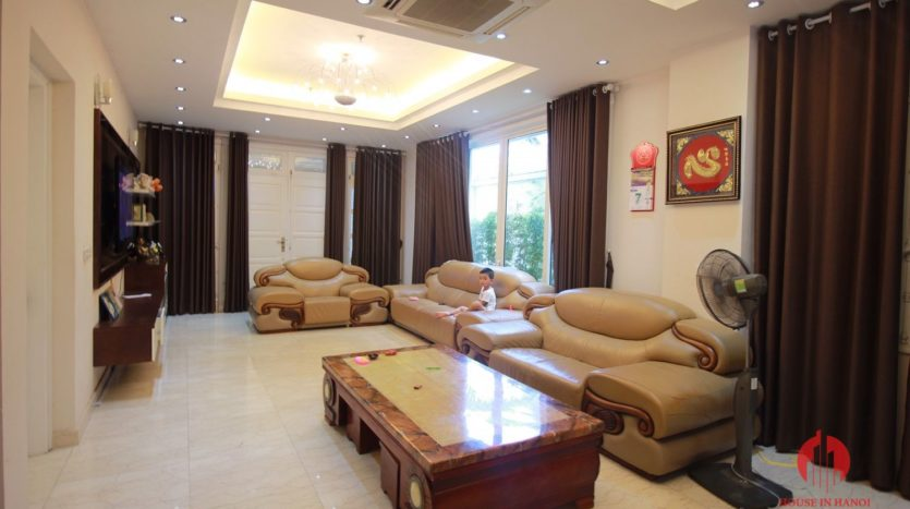 Grand 230m2 villa for lease in Ciputra T Block near Hanoi UNIS 2