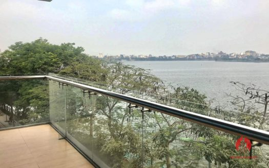 Great offer Lake view 90m2 1BR apartment for rent on Nhat Chieu st 6