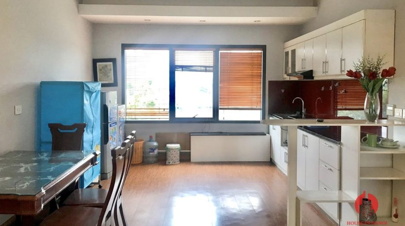 Great offer Lake view 90m2 1BR apartment for rent on Nhat Chieu st 7