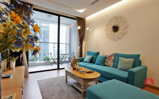 High floor 3BR apartment for rent in M3 Vinhomes Metropolis Ba Dinh 5