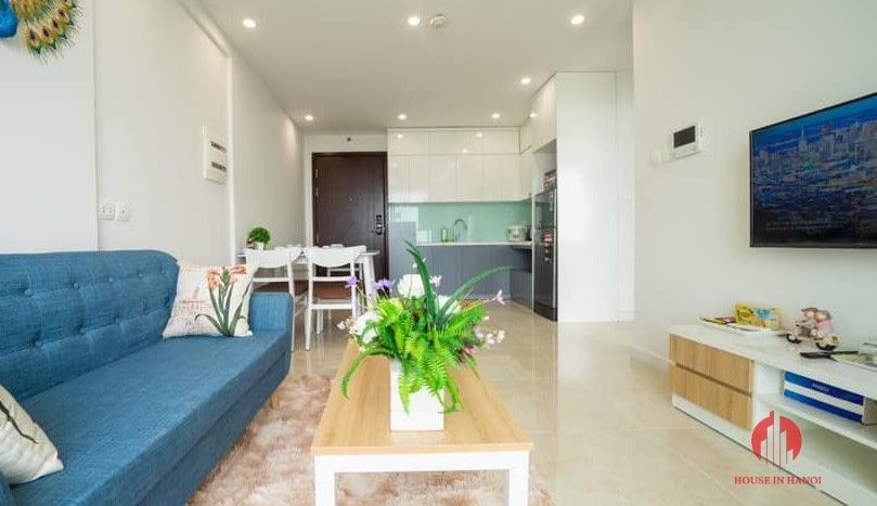 Modern 2BR apartment for rent in Trung Hoa area Cau Giay dist 6