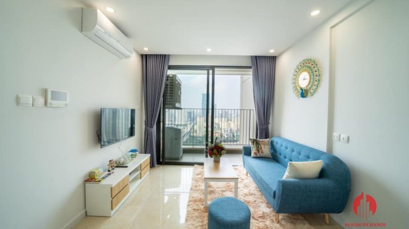 Modern 2BR apartment for rent in Trung Hoa area Cau Giay dist 9