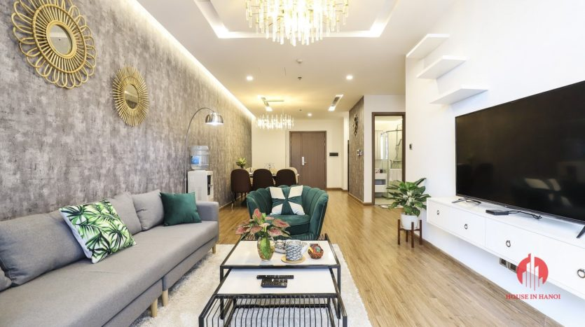 Overwhelming 3BR apartment with harmonious décor in Vinhomes Metropolis 7