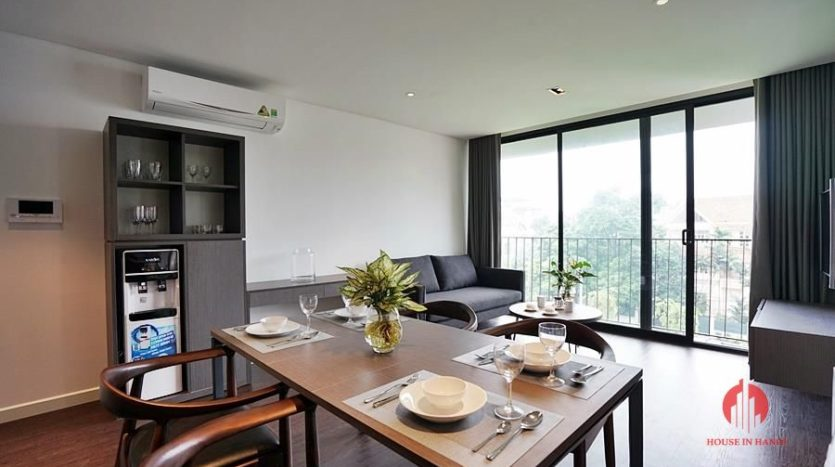 Standard serviced apartment for lease on To Ngoc Van street 10