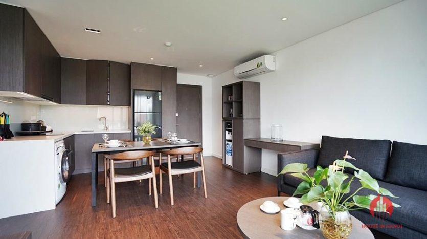 Standard serviced apartment for lease on To Ngoc Van street 11