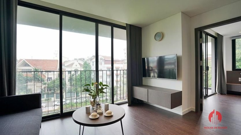 Standard serviced apartment for lease on To Ngoc Van street 3